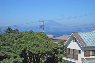 神奈川県三浦市三崎町小網代 売地  現地 古アパート有 現地から富士山が見えます 現地から伊豆大
